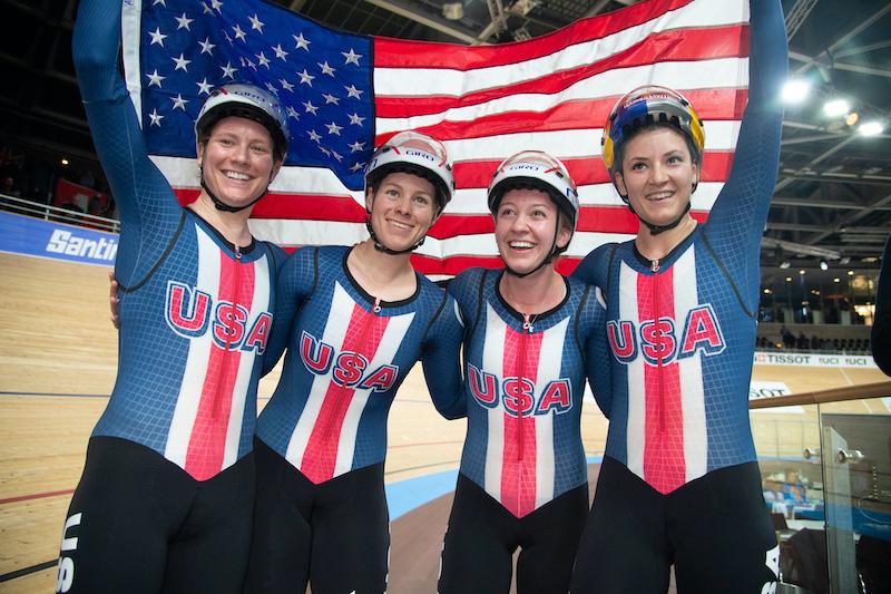 フェルトがUSA Cyclingトラックプログラムとのパートナーシップを継続