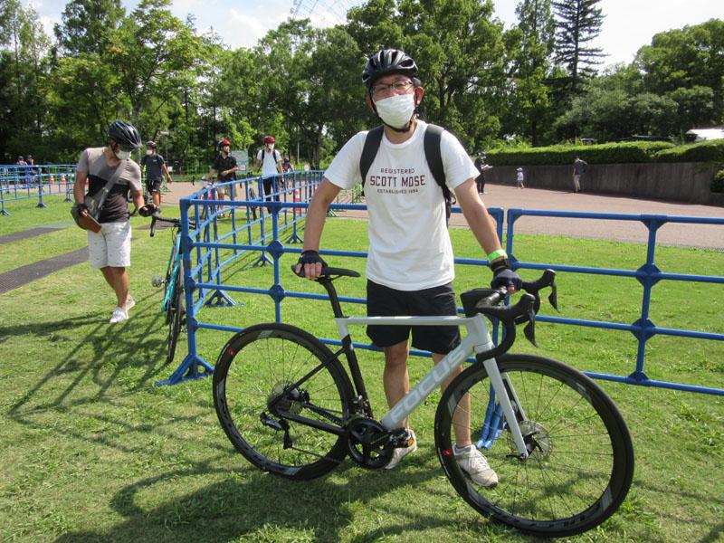 サイクルモードライド大阪2021の来場者