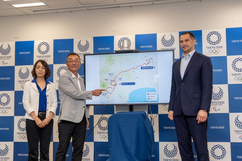 東京五輪ロードコース発表会見