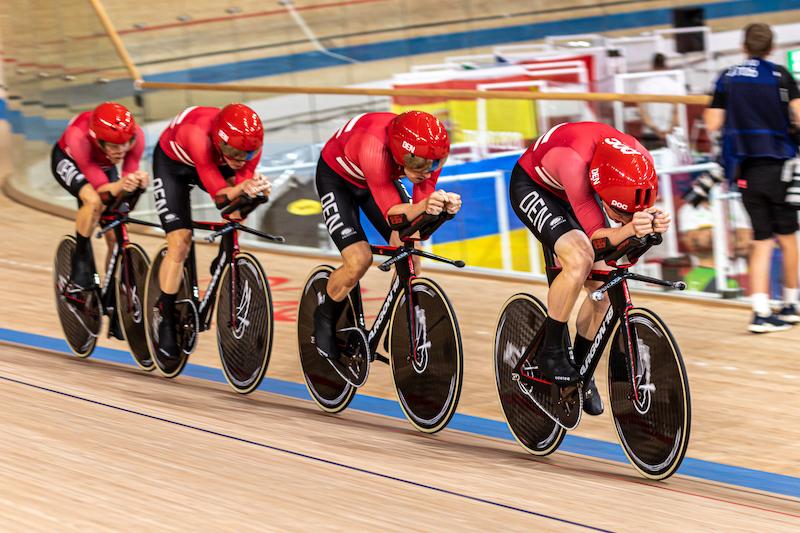 東京五輪トラック競技チームパシュート男子デンマークチーム