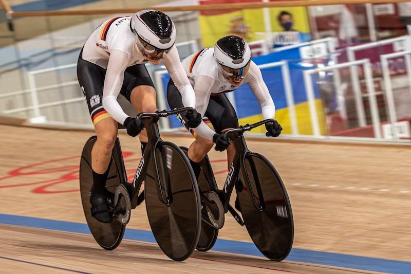 東京五輪トラック競技チームスプリント女子ドイツチーム