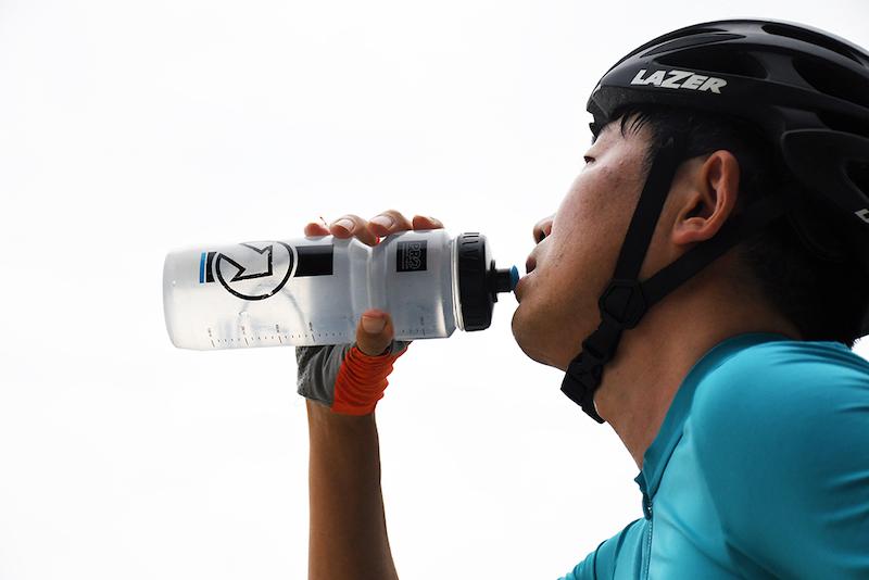自転車協会 水分補給
