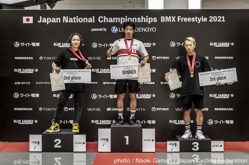 2021全⽇本BMXフリースタイル選⼿権 フラットランド種目