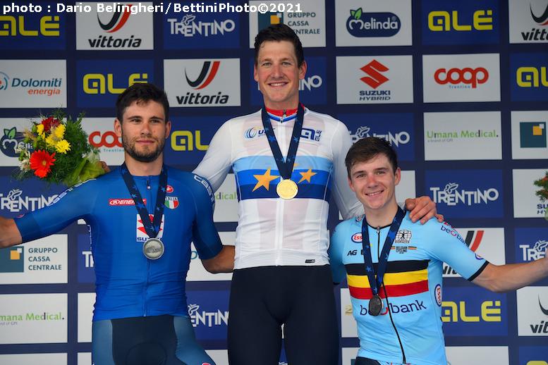 ヨーロッパ選手権2021個人TT