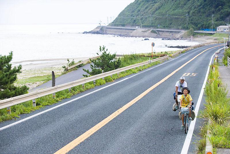 風虎くん自転車日本縦断