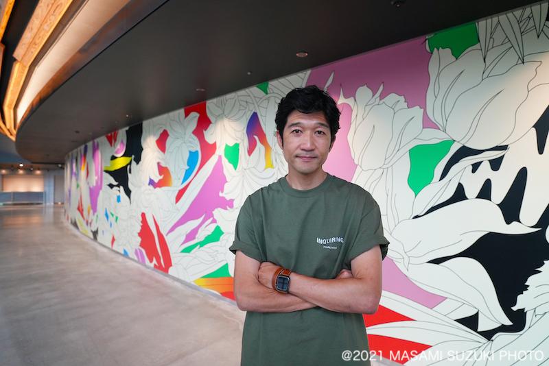 千葉JPFドームに松山智一氏が手掛ける作品を常設展示