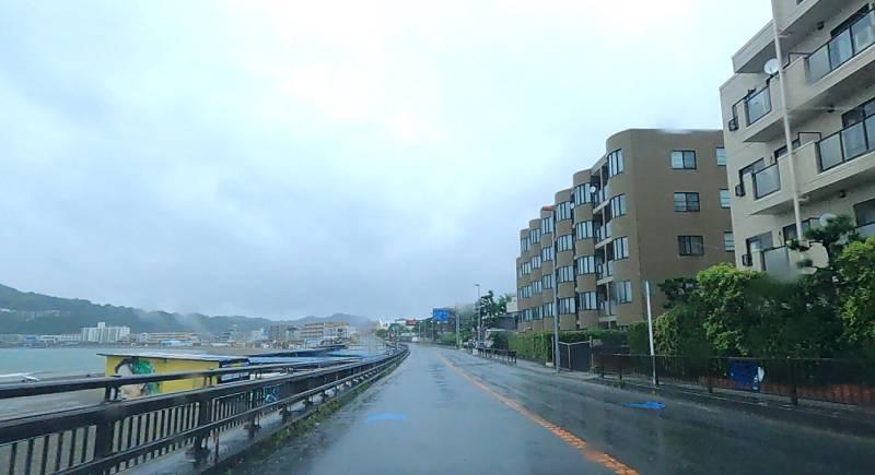 太平洋岸自転車道の久里浜から逗子区間