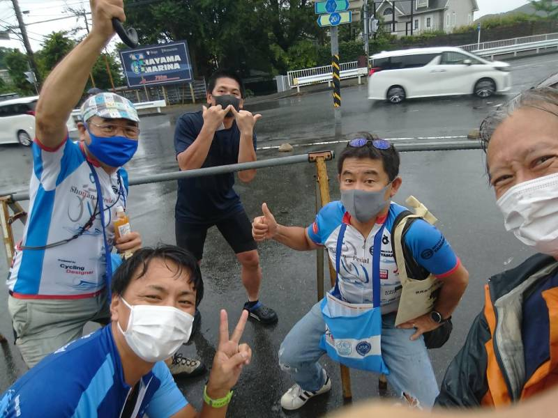 湘南でシニア向けサイクリング教室を実施している人たち