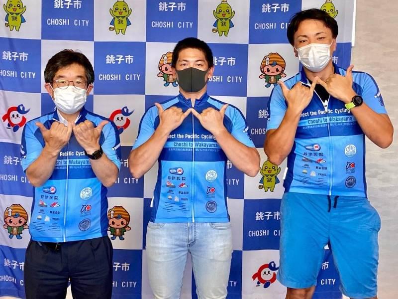 銚子市長とニシバとゴンザ