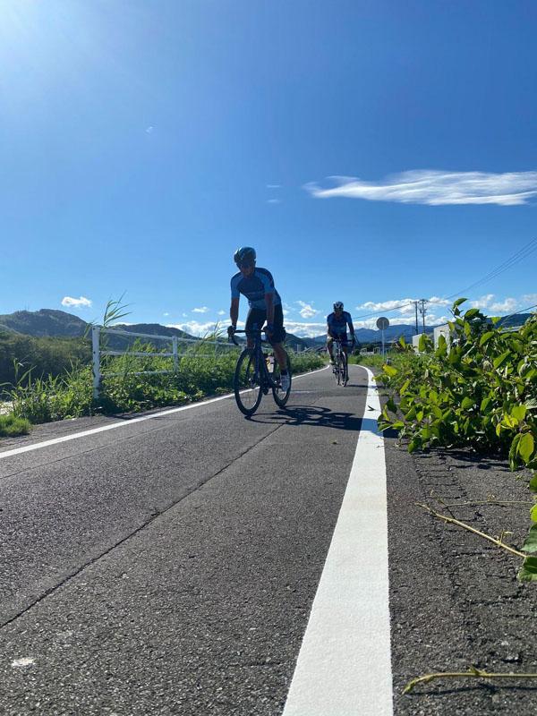 吉田町から牧之原市の太平洋岸自転車道