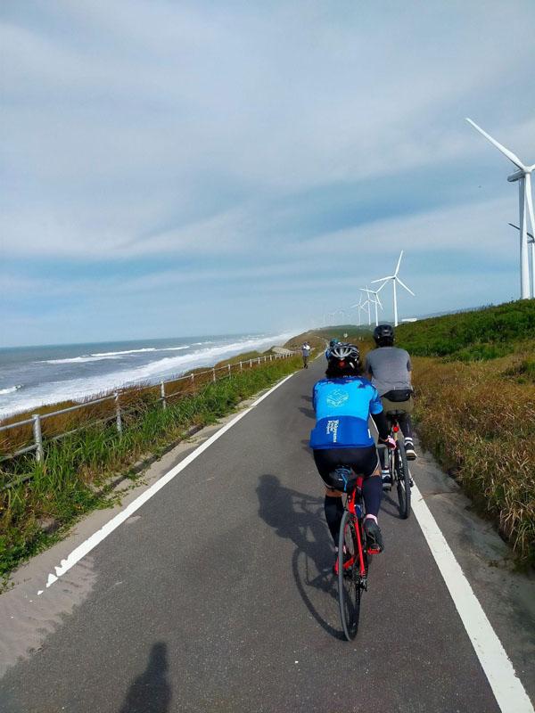 浜松御前崎自転車道の海岸区間