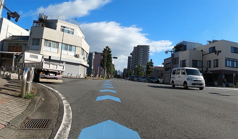 沼津駅への自転車ナビライン