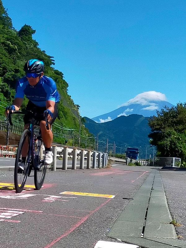 清水区由比からの富士山