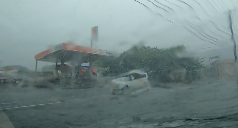 暴風と豪雨