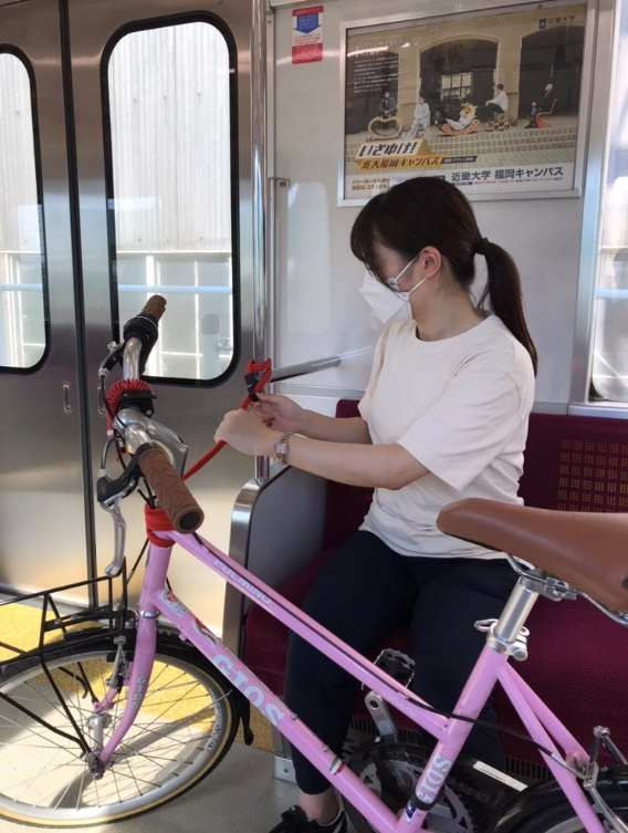 西鉄天神大牟田線「サイクルトレイン」実証実験