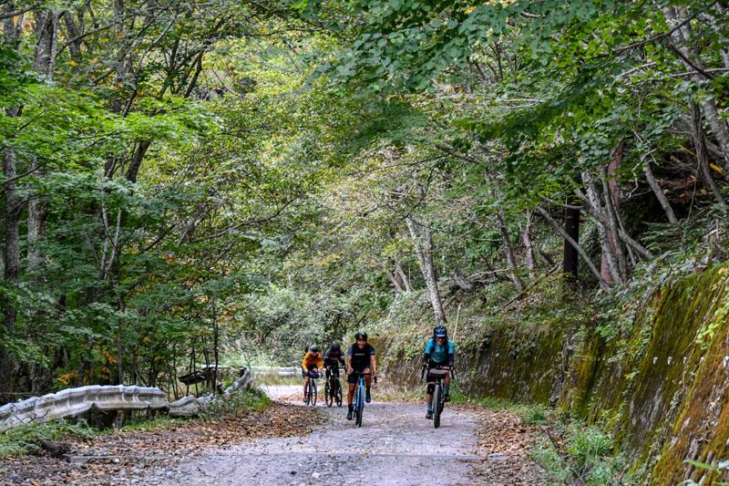 未舗装林道